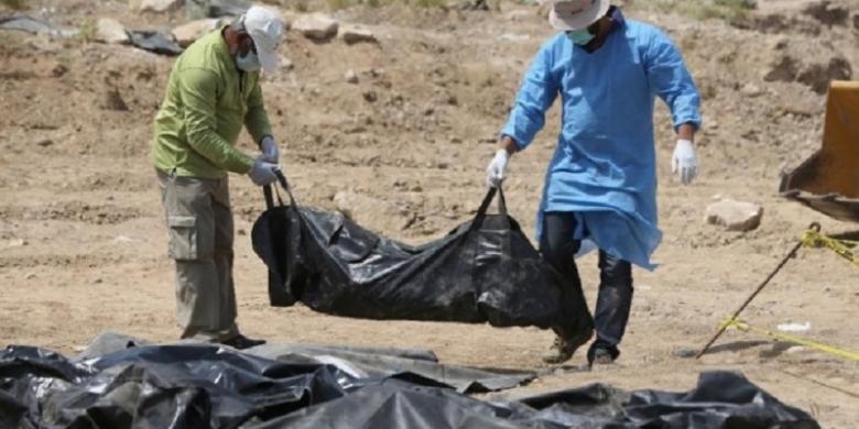 Irak Gali 164 Jenazah dari Kuburan Massal di Istana Sadam Hussein