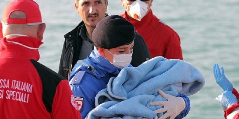 400 Imigran Gelap Tewas Tenggelam di Laut Tengah