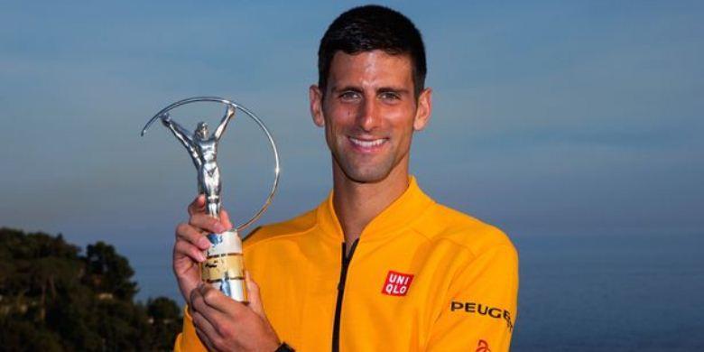 Djokovic Kalahkan Ronaldo Raih Laureus Award
