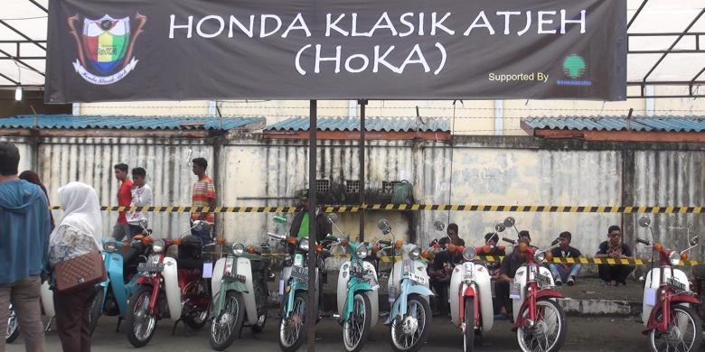 Klasik atjeh&;, ajang pameran dan kompetisi motor klasik