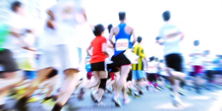 Cukup Bawa Satu Gadget Saat Lari Maraton