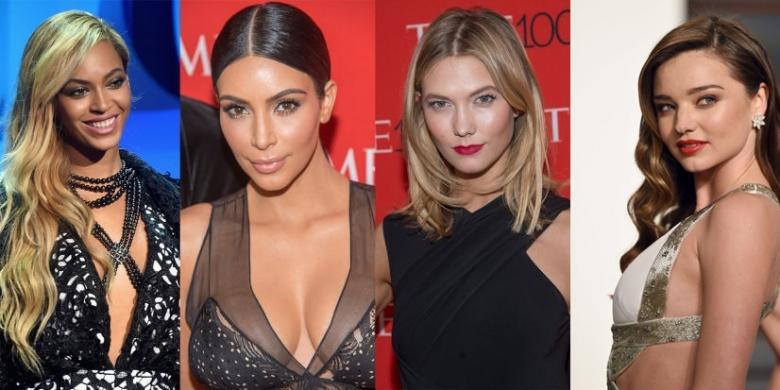 Selebriti Berikut Jadi Ikon Kecantikan Dunia – KOMPAS.com
