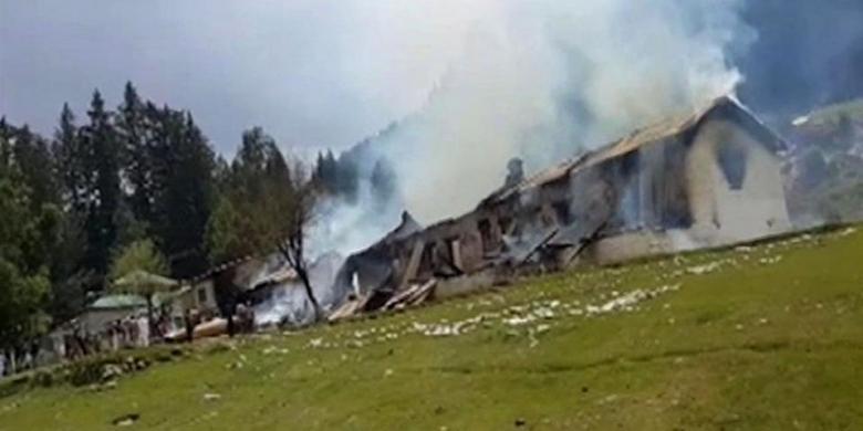 Pakistan Bantah Helikopter yang Ditumpangi Istri Dubes RI Ditembak Taliban