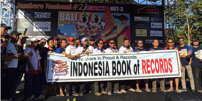 Tiga Rekor Baru Ertiga Club Indonesia