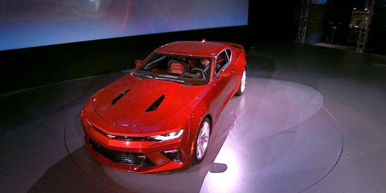 Chevrolet Camaro Kini Lebih Kalem