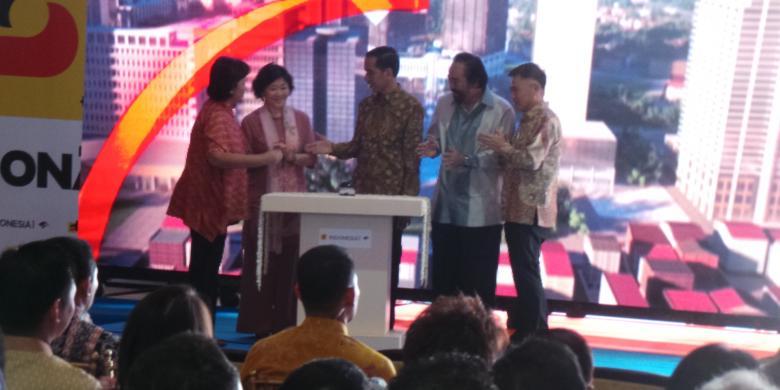 Jokowi Resmikan Pembangun