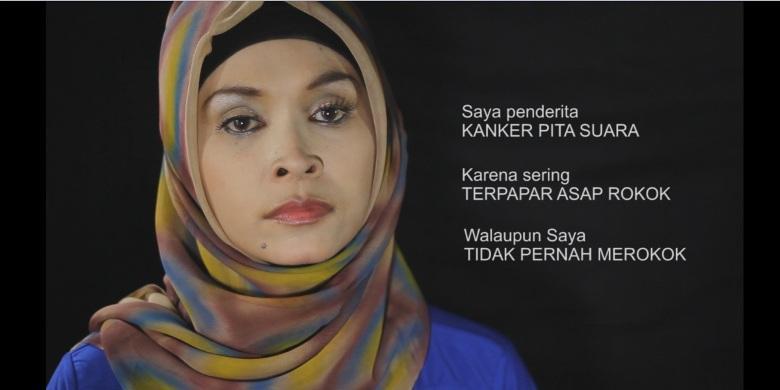 Wanita Ini Kehilangan Suara, Karena Jadi Perokok Pasif