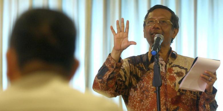 Mahfud MD: Negara Bisa Hancur Kalau Mafia Peradilan Dibiarkan