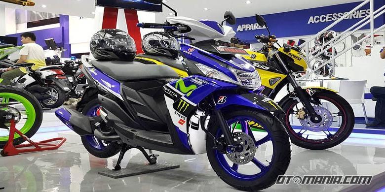 kumpulan modifikasi mio sporty ala motogp