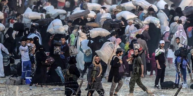Pemantau: ISIS Rebut Kota Penting di Suriah