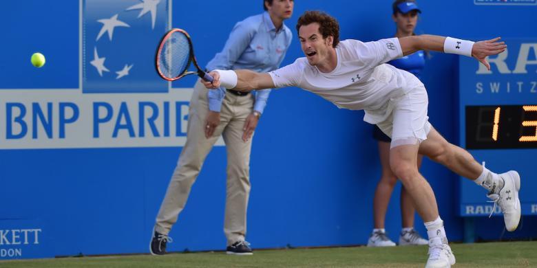 Murray Makin Dekat dengan Gelar Keempat di Queen's Club