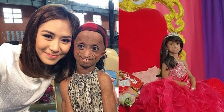 """""""Gadis Tertua"""" di Filipina Merayakan Ulang Tahunnya yang Ke-18"""