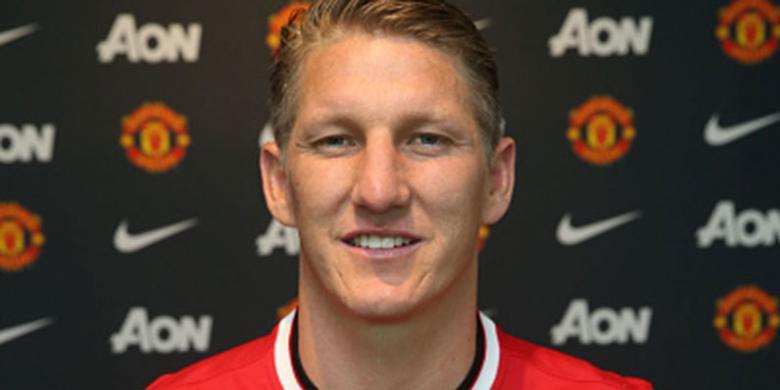 Sah, Bastian Schweinsteiger Berseragam Manchester United