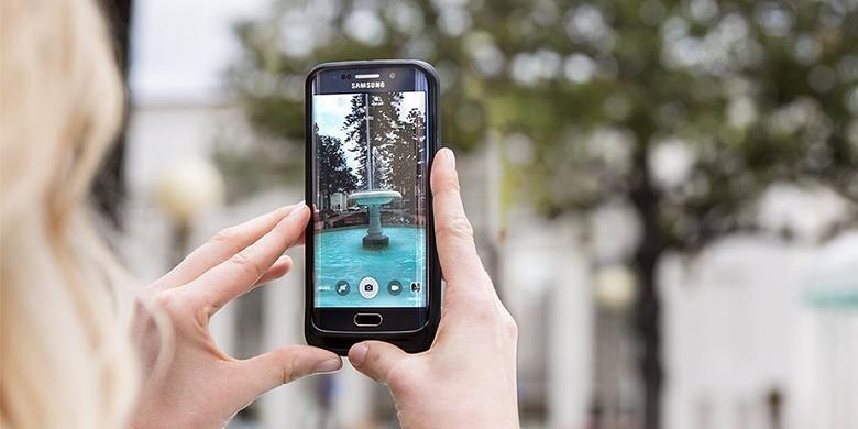 Cara Pasang Slot MicroSD di Galaxy S6 |  KOMPAS TEKNO