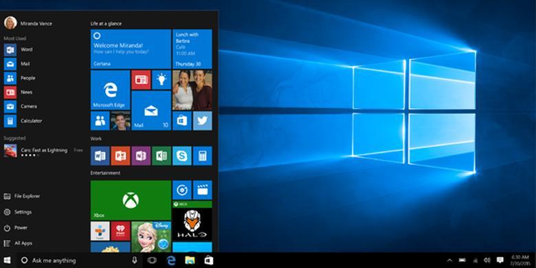"Besok, Hari Terakhir ""Upgrade"" Gratis Windows 10"