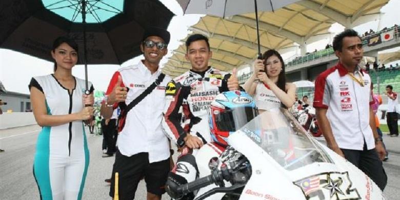 Pebalap Motor Malaysia Sadar dari Koma