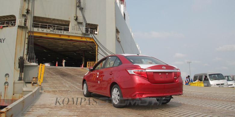 2016, Ekspor Toyota Indonesia Anjlok Lumayan