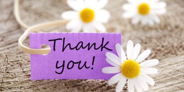 Ucapan Terima Kasih Mujarab Untuk Hubungan Anda Dengan