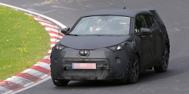 Toyota Mulai Tes Pesaing HR-V di Nurburgring