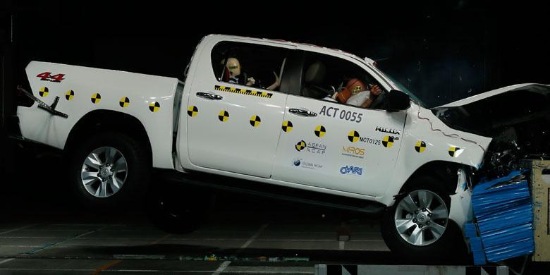 """Ini Tanggapan Toyota Soal Tes Tabrak """"Mobil Murahnya"""""""