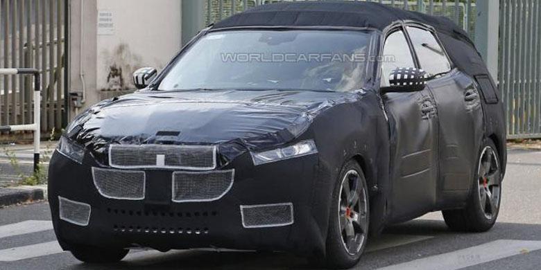 SUV Perdana Maserati Mulai Tes di Jalan Umum