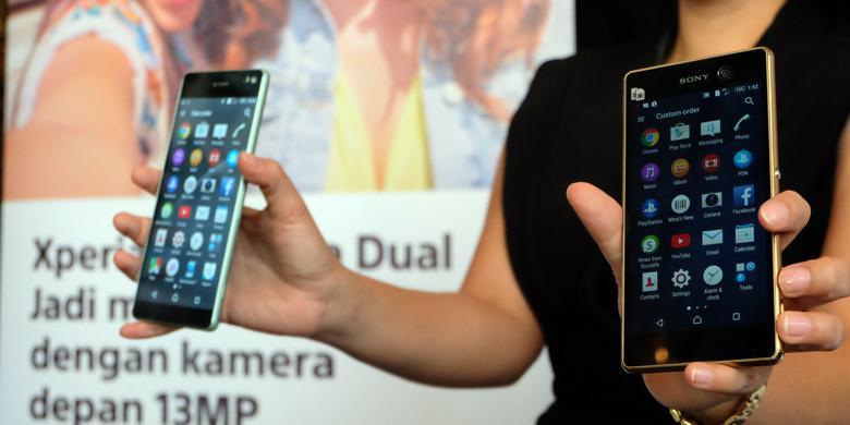 Penjualan Smartphone Sony Xperia Tercatat Menurun