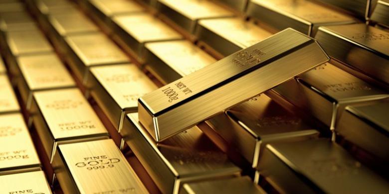 Harga Emas Sedikit Terangkat Pasca-Sinyal Kenaikan Fed Rate