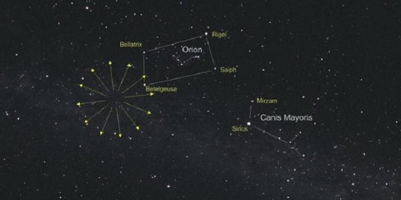 Ratusan Meteor Akan Menghujani Bumi Malam Ini, Ayo Saksikan...