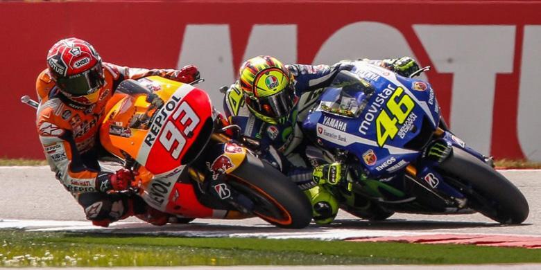 "Aneka Meme Lucu Sindir ""Tendangan"" Rossi ke Marquez |  KOMPAS TEKNO"