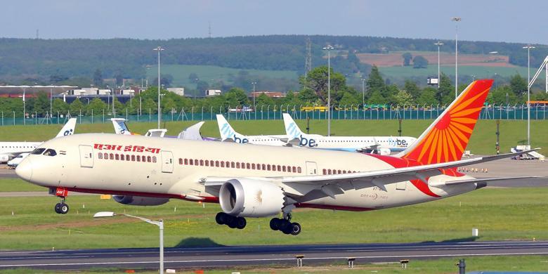 Pesawat Air India Terbang Tanpa 43 Sekrup Yang Lupa
