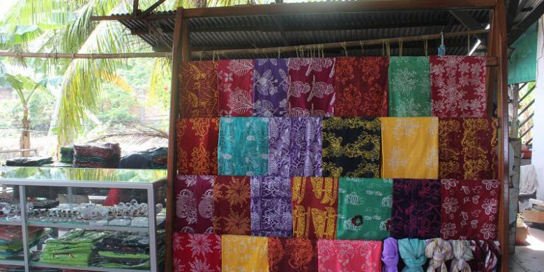 KOMPAS.COM/JONATHAN ADRIAN Ragam motif batik, dari daun simpor hingga ...