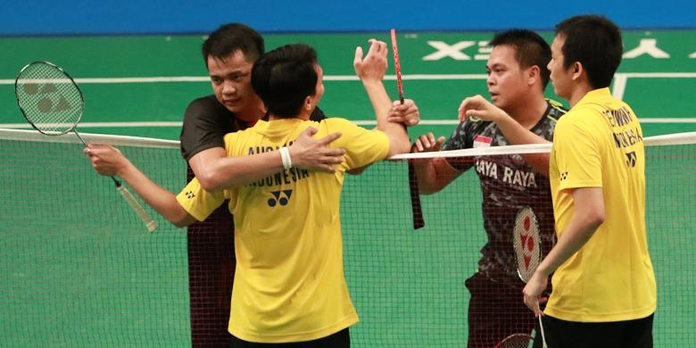 Hendra/Kido Dan Tontowi/Gloria  Gagal Ke Final