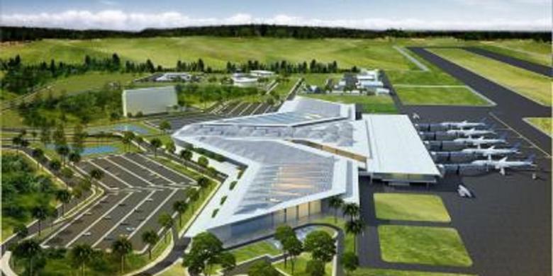 pengembangan bandara syamsudin noor dimulai maret 2017