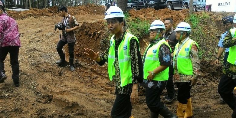 Jokowi: Pembangunan Jalan Tol Lampung Paling Cepat