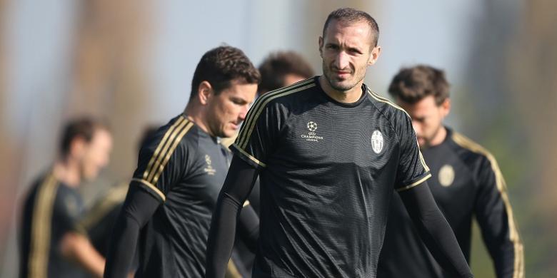 Juventus Dipastikan Tanpa Chiellini Saat Lawan Bayern