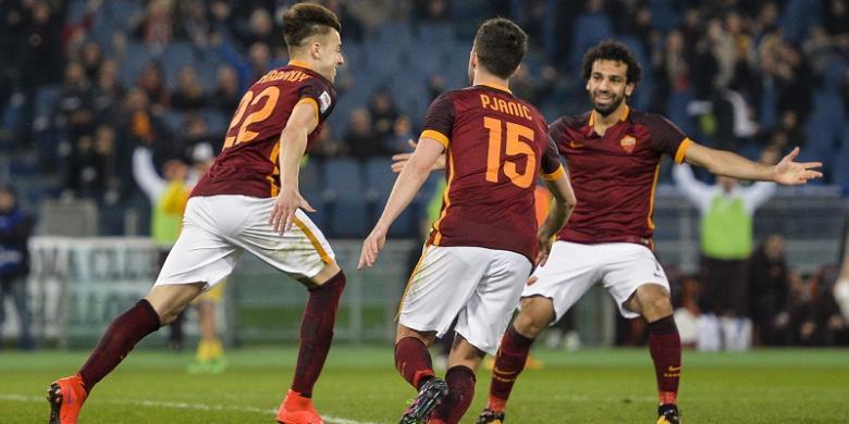 Cetak Gol Perdana, El Shaarawy Bawa AS Roma Menang