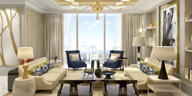 8 apartemen termahal dan termewah di jakarta for Siti di interior design