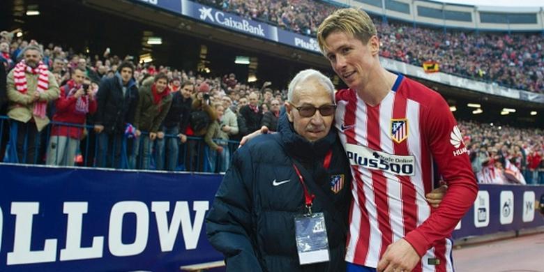 Atletico Menang, Torres Girang Catat Gol Ke-100