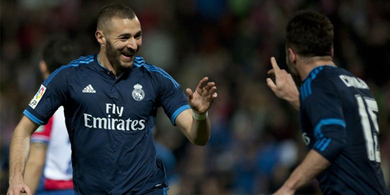 Amankan Tiga Poin di Granada, Madrid Terus Mengejar Atletico dan Barcelona