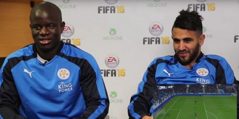 Mahrez Menangkan Leicester atas Arsenal di FIFA 16
