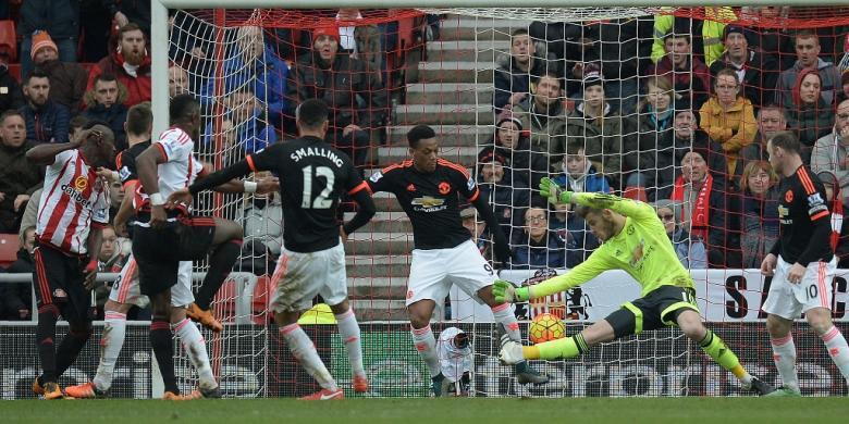 United Telan Kekalahan Ke-7 karena Gol Bunuh Diri De Gea