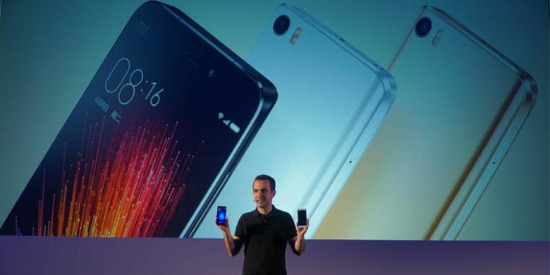 """Xiaomi Resmikan Android """"128 GB"""" Mi5 Di Barcelona"""
