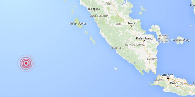 Gempa Masih Terjadi di Perairan Sumatera