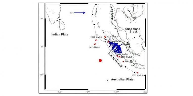 Gempa Guncang Mentawai, Daratan Barat Sumatera Diprediksi Geser 2 Cm