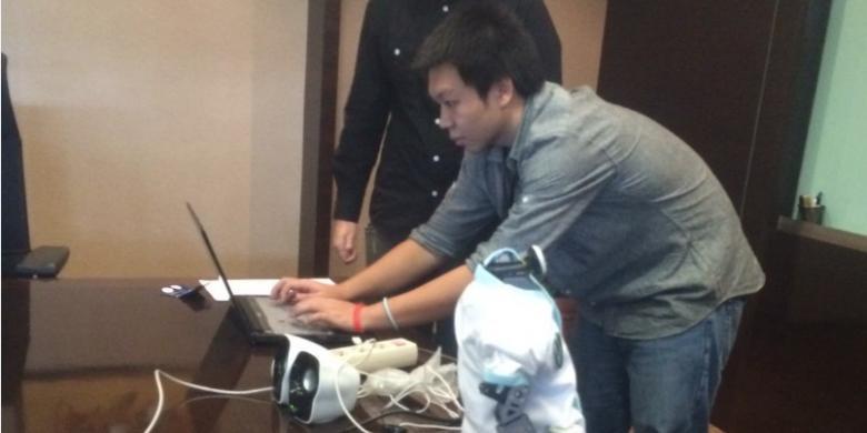 Mahasiswa Binus Bikin Robot yang Jago Berbahasa Indonesia