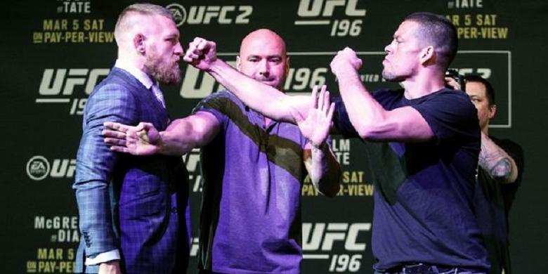 Nate Diaz Ingin Pertemuan Ketiga Dengan Conor McGregor