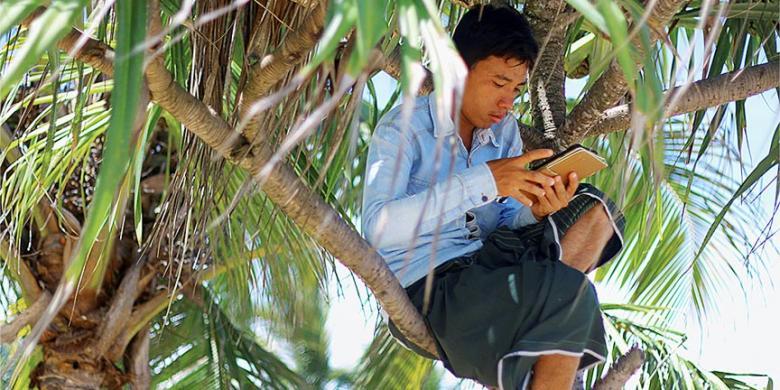 """Cara Memperkuat Sinyal """"Smartphone"""""""