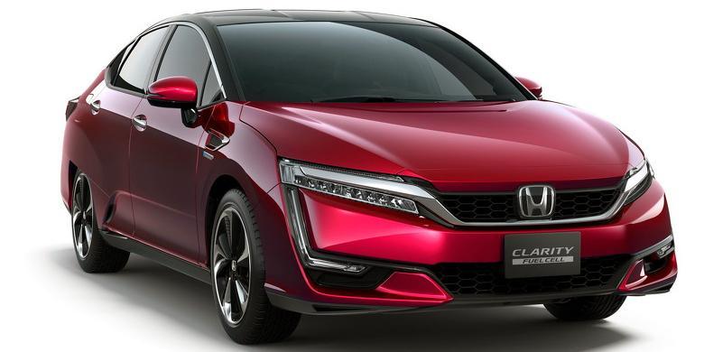 Honda Clarity Punya Jarak Tempuh Terbaik