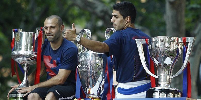Mascherano Pilih Bertahan di Barcelona, tetapi...