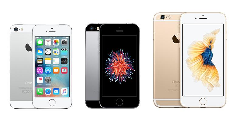 Perbandingan Spesifikasi IPhone SE, IPhone 5S Dan IPhone 6S